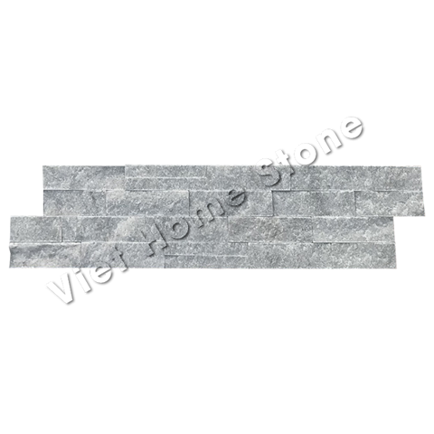 Mouse Grey S double chip Marble Wall Panel