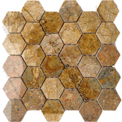 Hexagon Marble Mosaic
