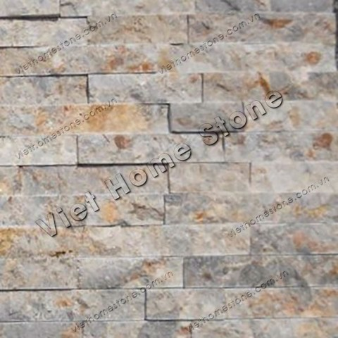 Multicolor marble wall panel