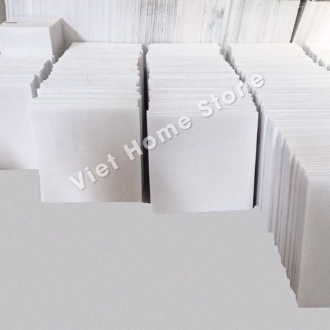 Pure white marble tiles 60x60