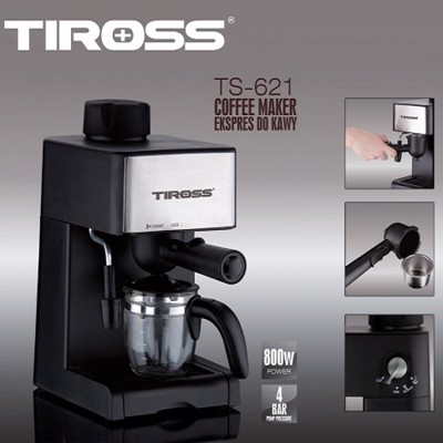may pha ca phe espresso tiross ts 621