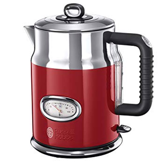 am dun nuoc sieu toc russell hobbs retro ribbon red