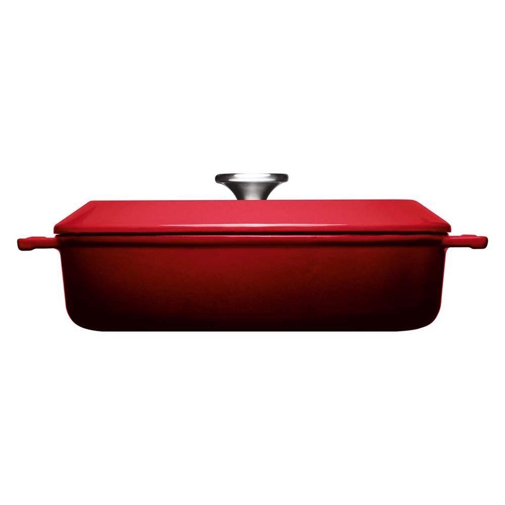 noi tron woll iron casserole 28 cm chili red