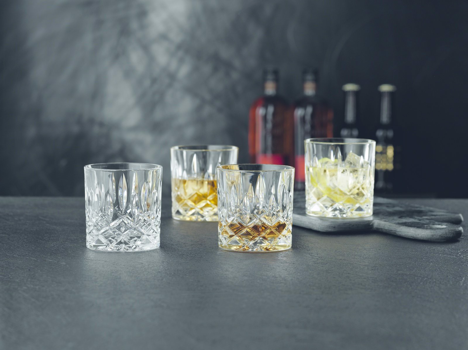 set 4 coc new nachtmann noblesse 98857 single old fashioned tumbler set of 4