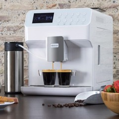 may pha ca phe cecotec power matic ccino 7000 serie bianca