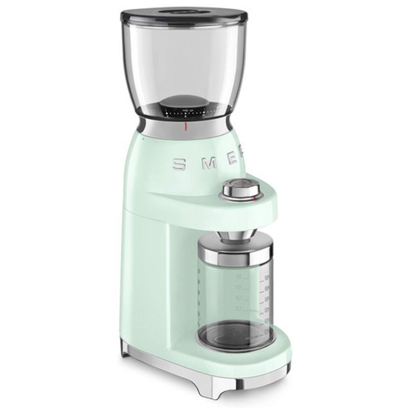 may xay cafe smeg cgf01pgeu mau xanh mint