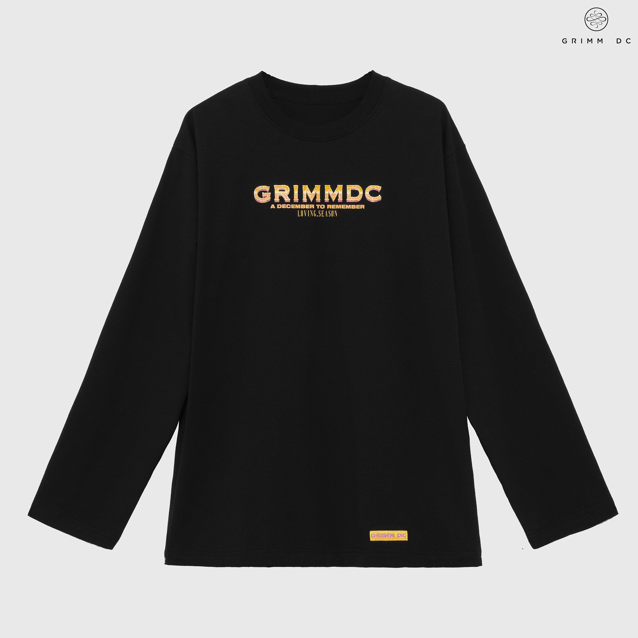 Long sleeve Noel No-end ss.02 - Black