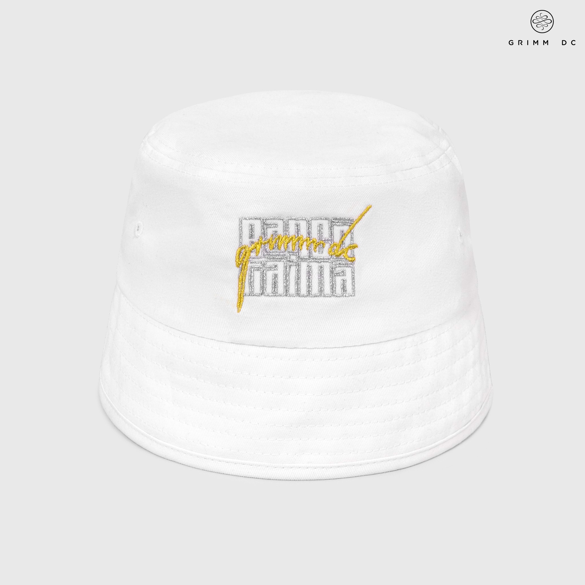 Nón bucket SCHDTX - White