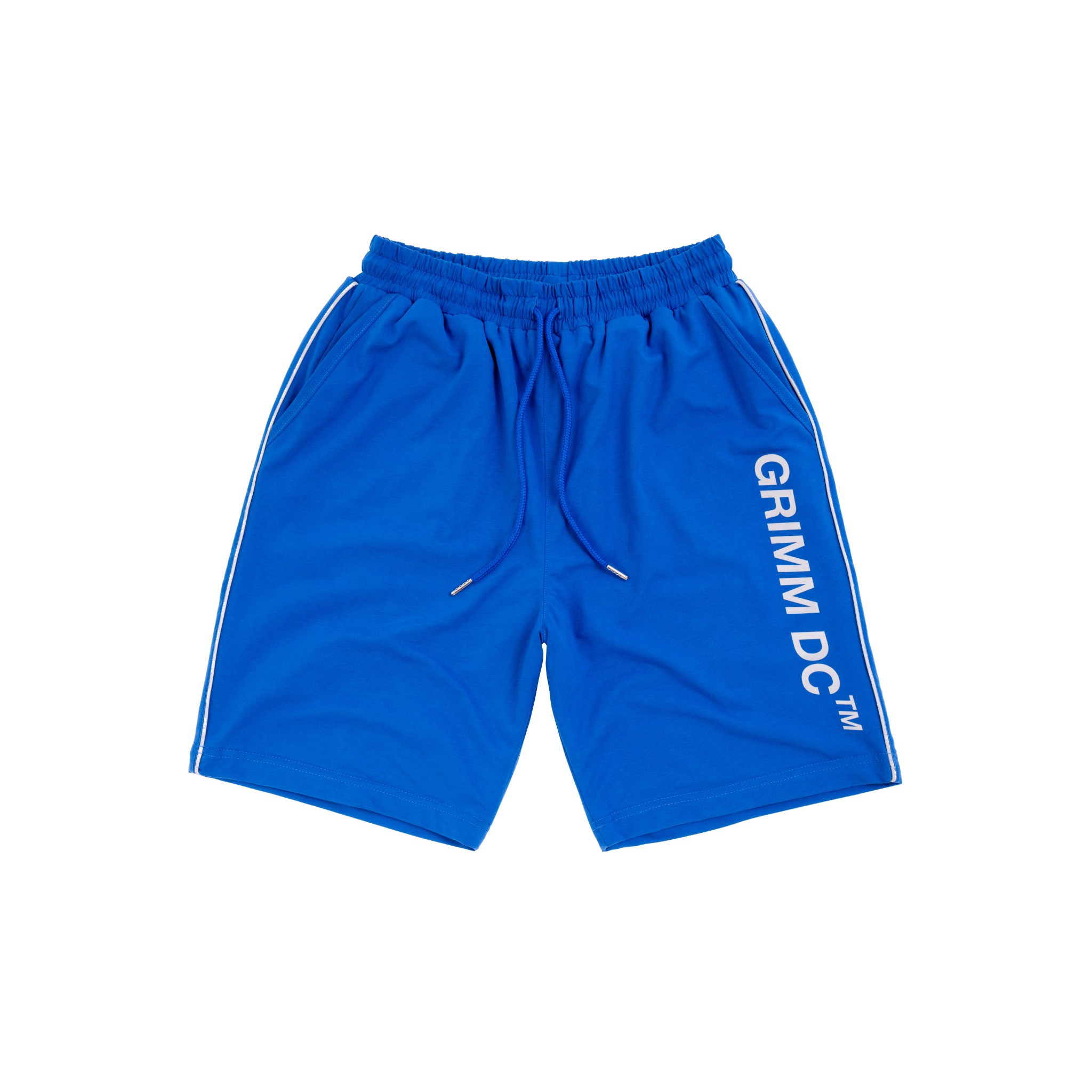 Summer Puzzle Shorts - Blue