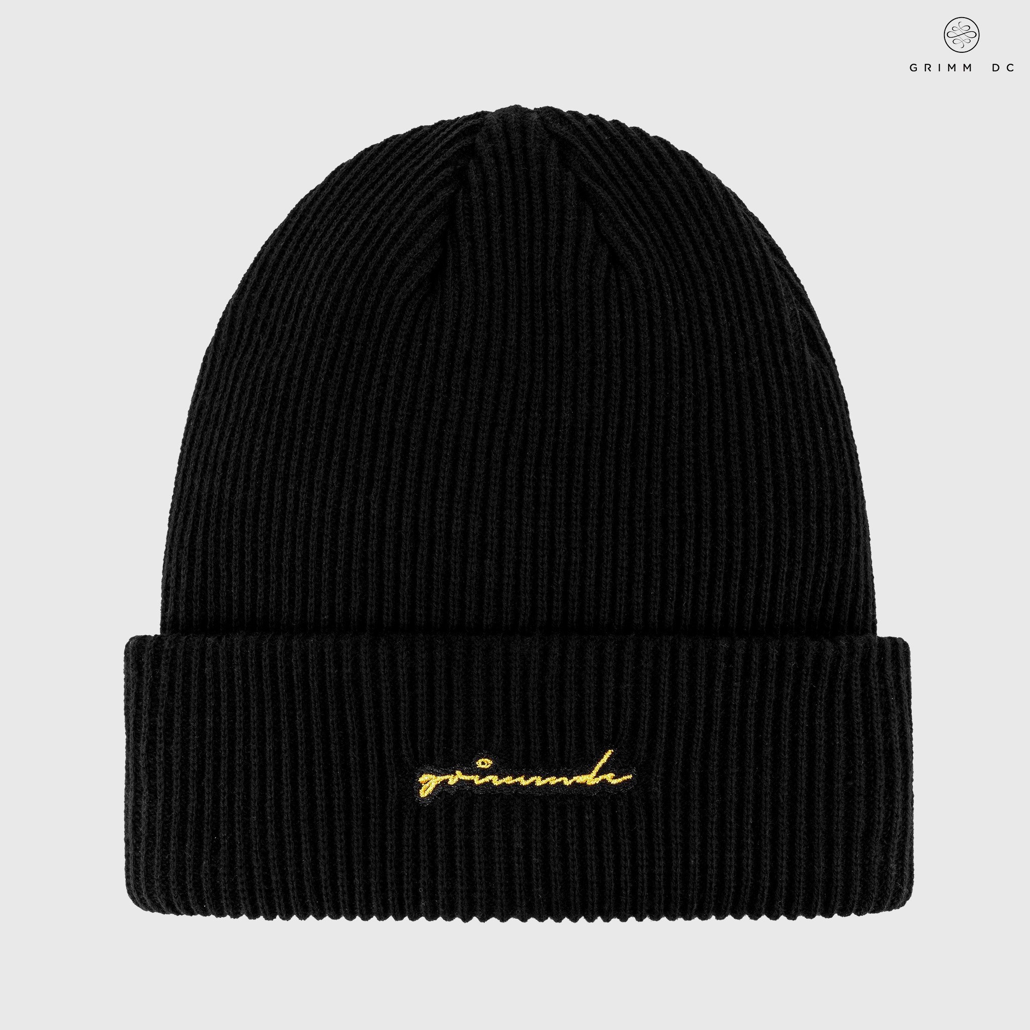 High-top beanie | Black