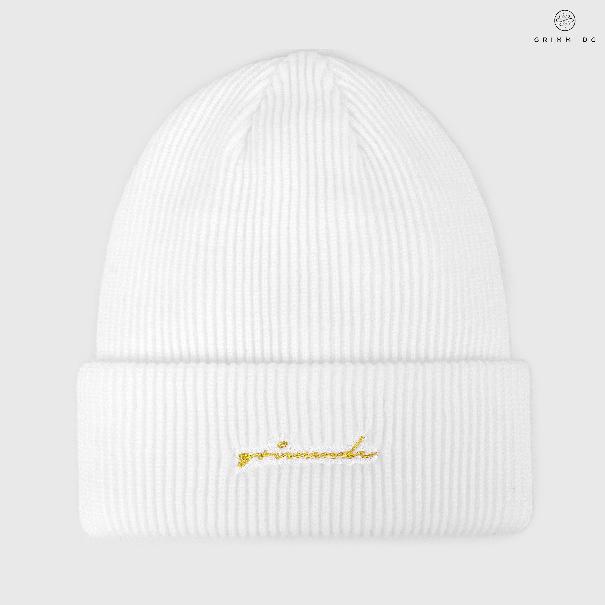 High-top beanie | White