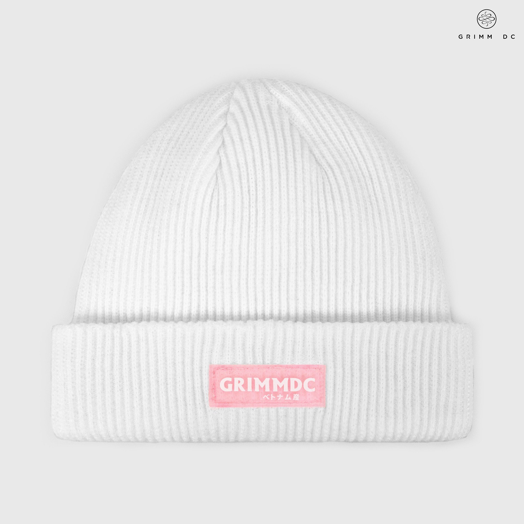Low-top beanie | White