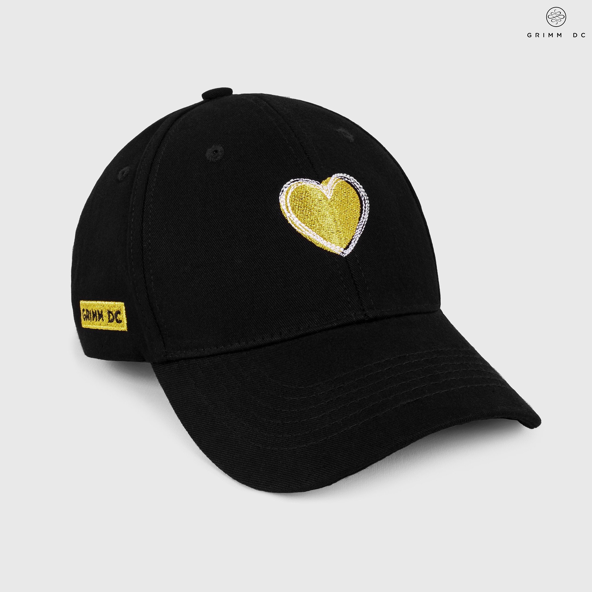 Nón tim vàng / Couple Gold cap