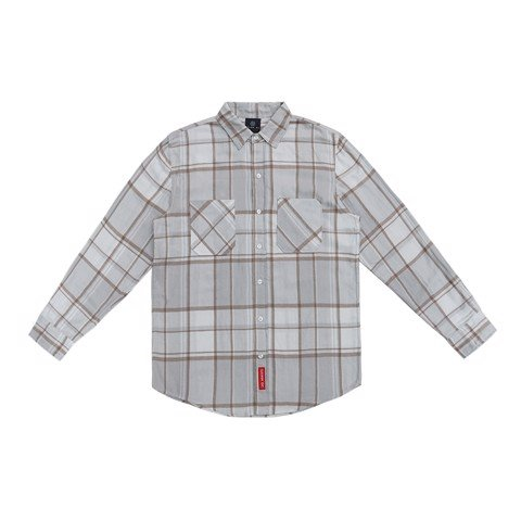 Ivory creme flannel