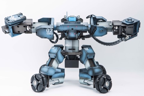 GANKER BATTLE ROBOT (BLUE)
