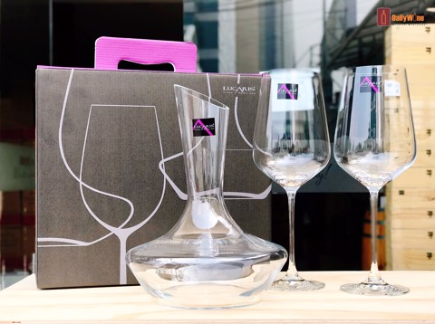 BỘ DECANTER + 2 LY PHALE LUCARIS