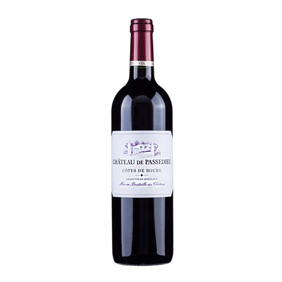 CHATEAU PASSEDIEU 2015 BORDEAUX COTES DU BOURG 750ML
