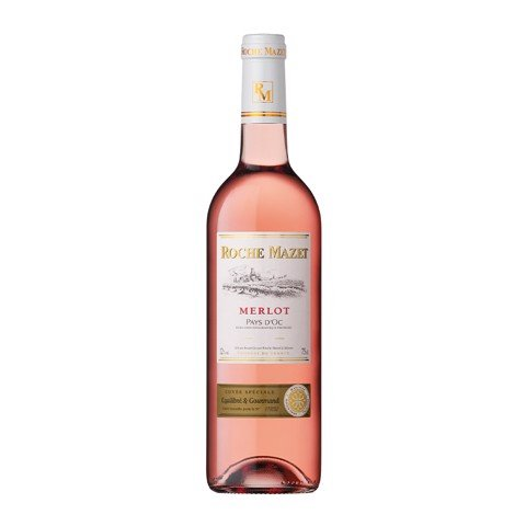 ROCHE MAZET - MERLOT ROSE 750ML