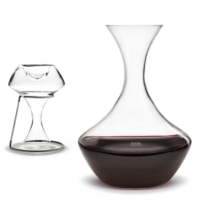 Crystal Swoon Wine Decanter