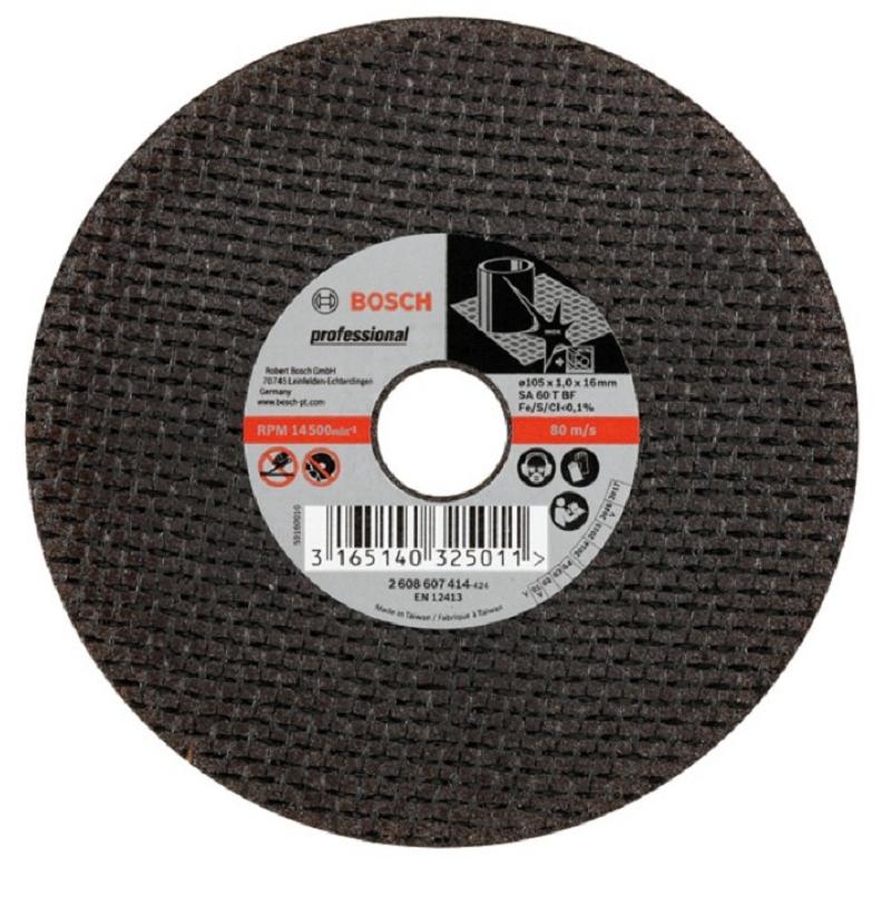 Đá cắt inox BOSCH (105X1.0X16MM)