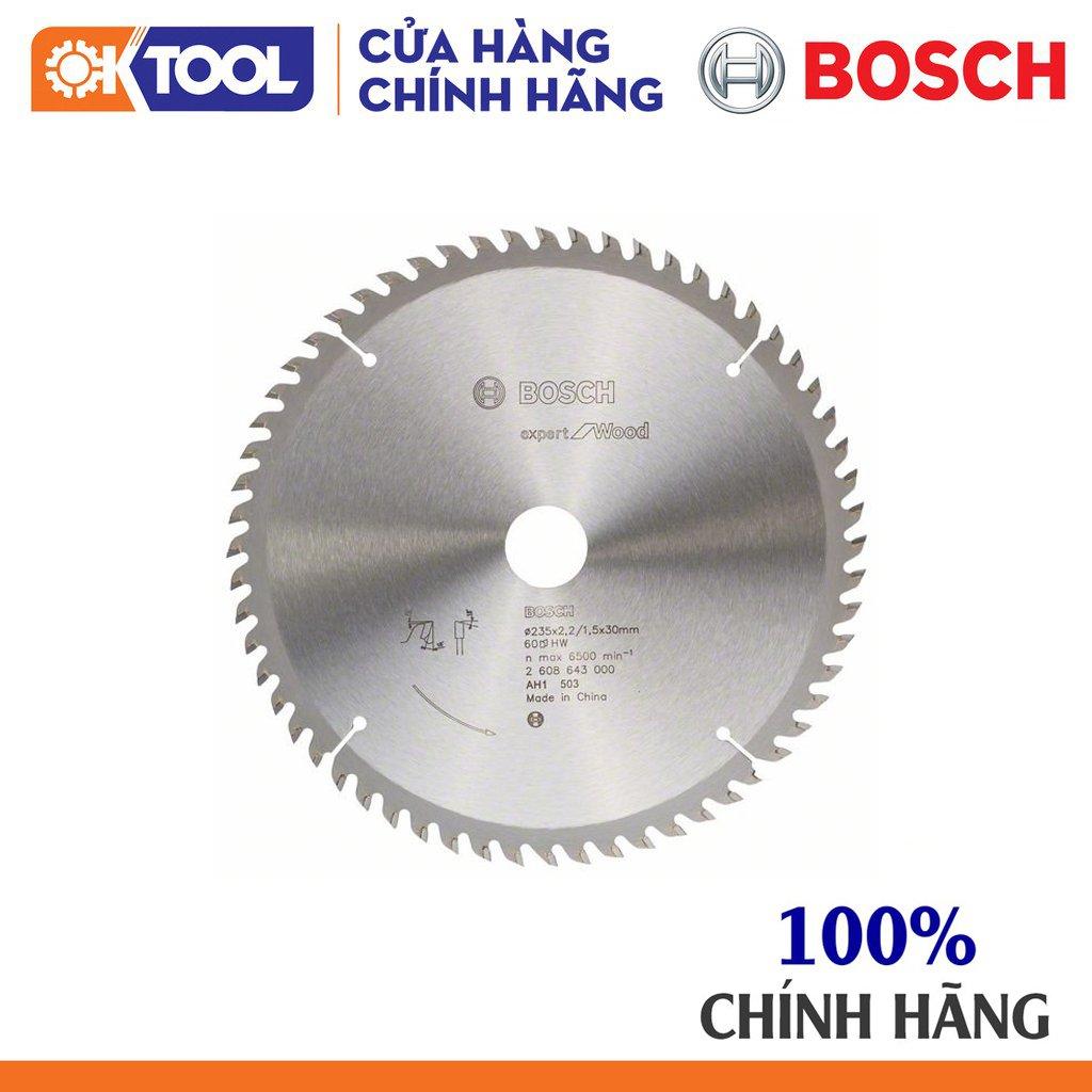 Lưỡi cưa gỗ BOSCH (235X30X60T)