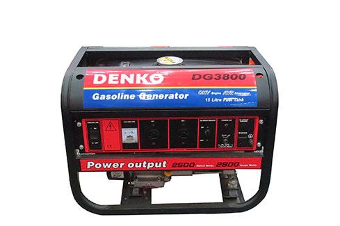 Phát điện chạy xăng DENKO DG3800