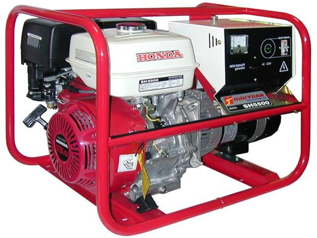 Phát điện chạy xăng HỮU TOÀN SH5500