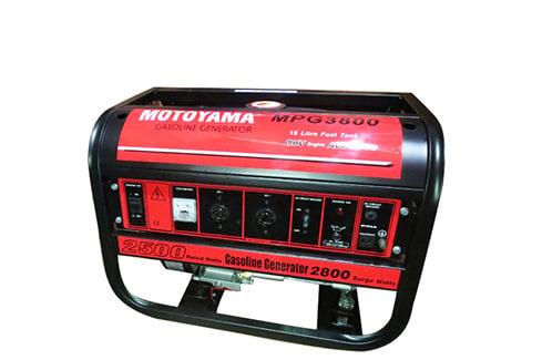 Phát điện chạy xăng MOTOYAMA MPG3800 không đề