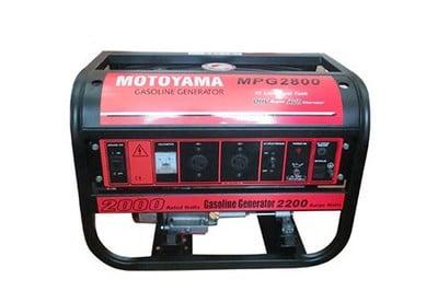 Phát điện chạy xăng MOTOYAMA MPG3800E2 (có đề )