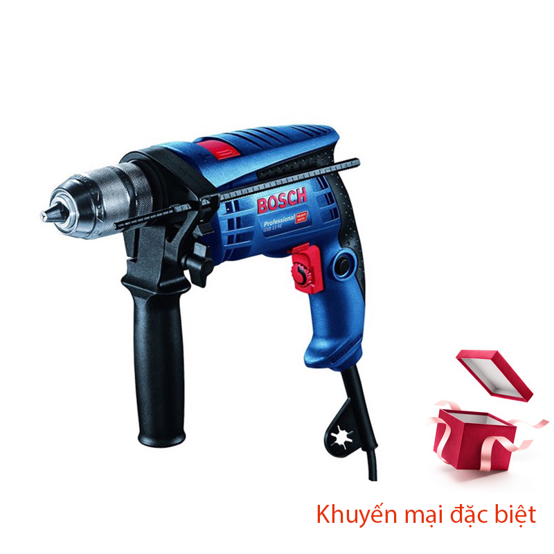 Máy khoan BOSCH_GSB13RE SET100 PK 13MM-650W_06012271K3
