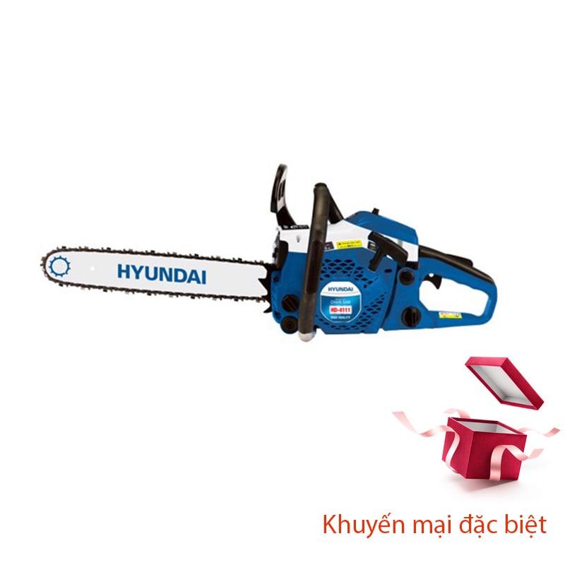 Máy cưa xích HYUNDAI HD-4111 (LX Theo máy)
