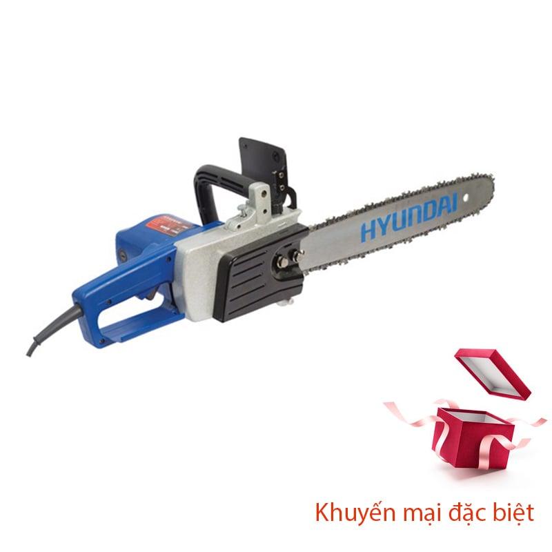 Máy cưa xích chạy điện HYUNDAI HCX405 (405MM_1500W)