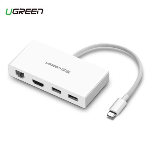 CÁP USB-C TO HDMI + LAN + USB 3.0 UGREEN (40377) MV