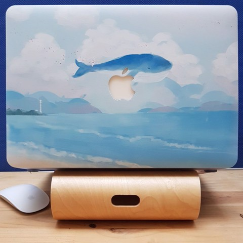 CASE ỐP MACBOOK IN HÌNH CÁ VOI