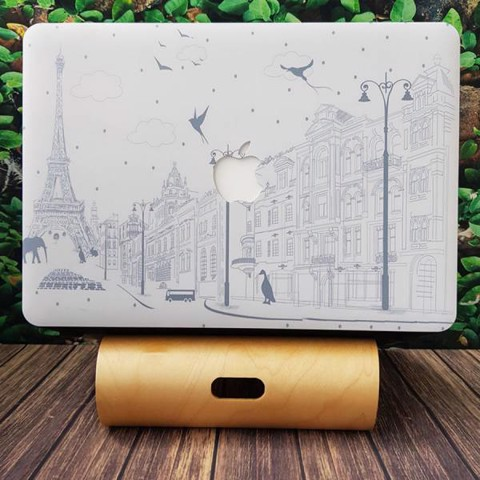 CASE MACBOOK IN HÌNH PARIS