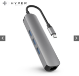 CỔNG CHUYỂN HYPERDRIVE 4K HDMI 6-IN-1 USB-C HUB FOR MACBOOK & USB-C DEVICES