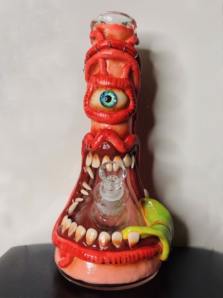 Bongs Green Tongue - HD106