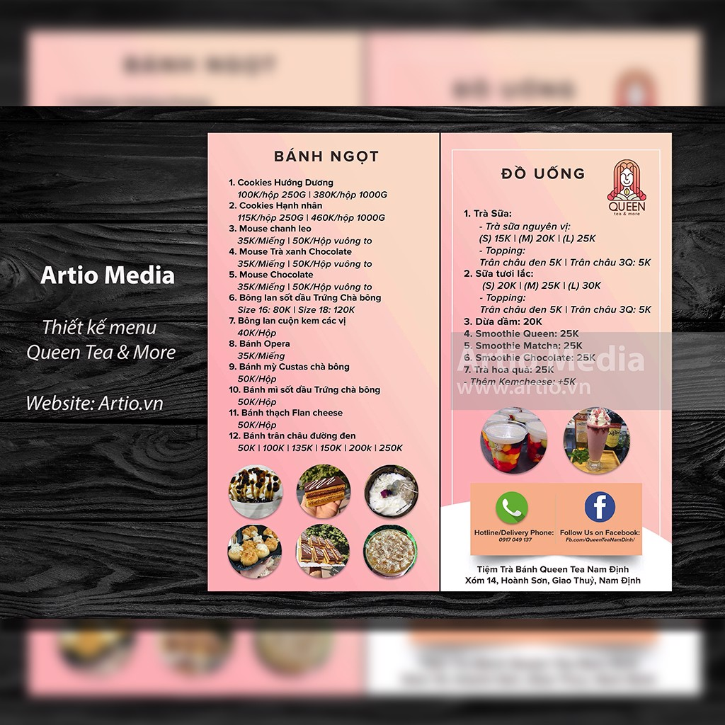 MENU_Queen Tea & More
