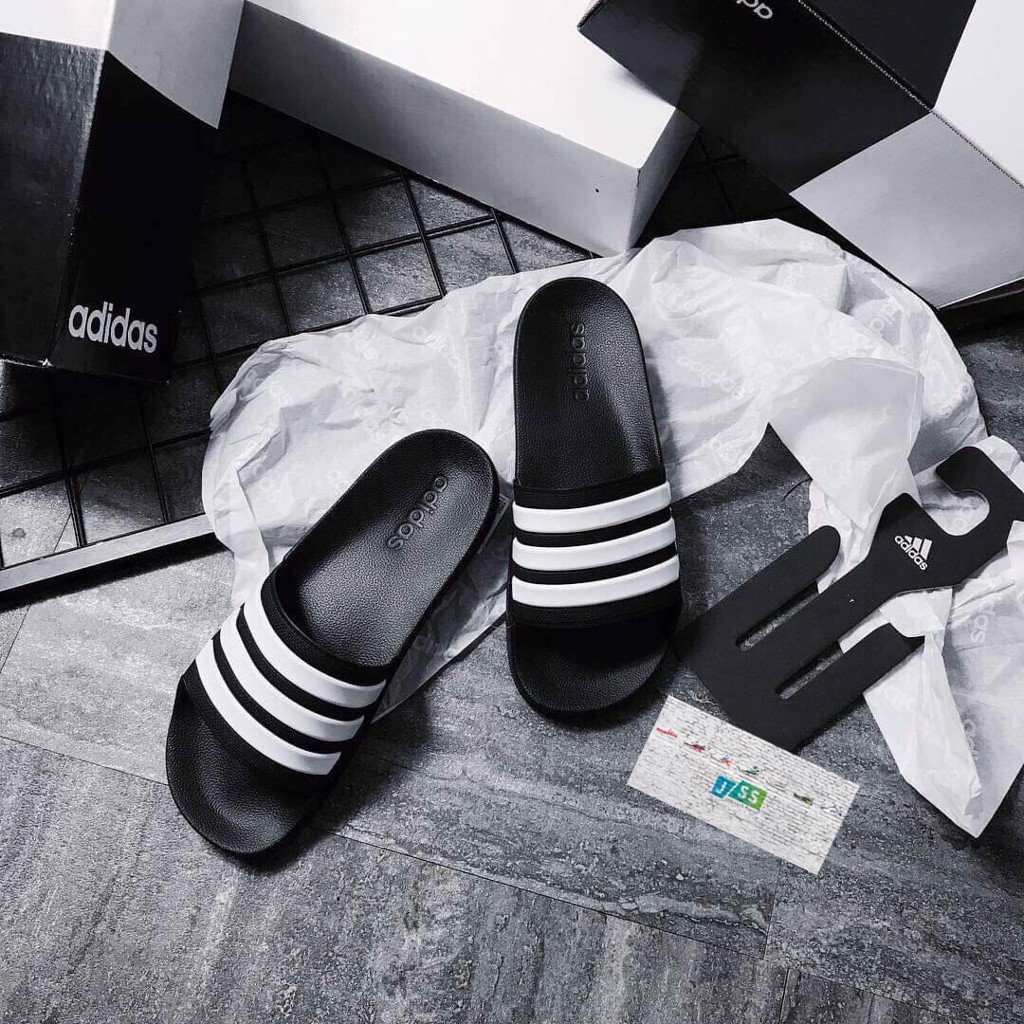 Adidas Slipper Black/White