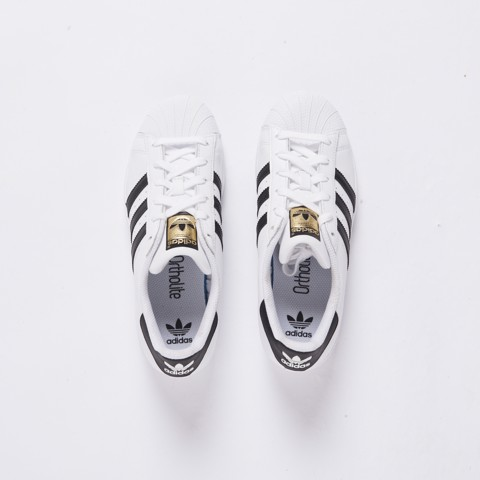 Adidas Superstar Original White/Black/Gold Label