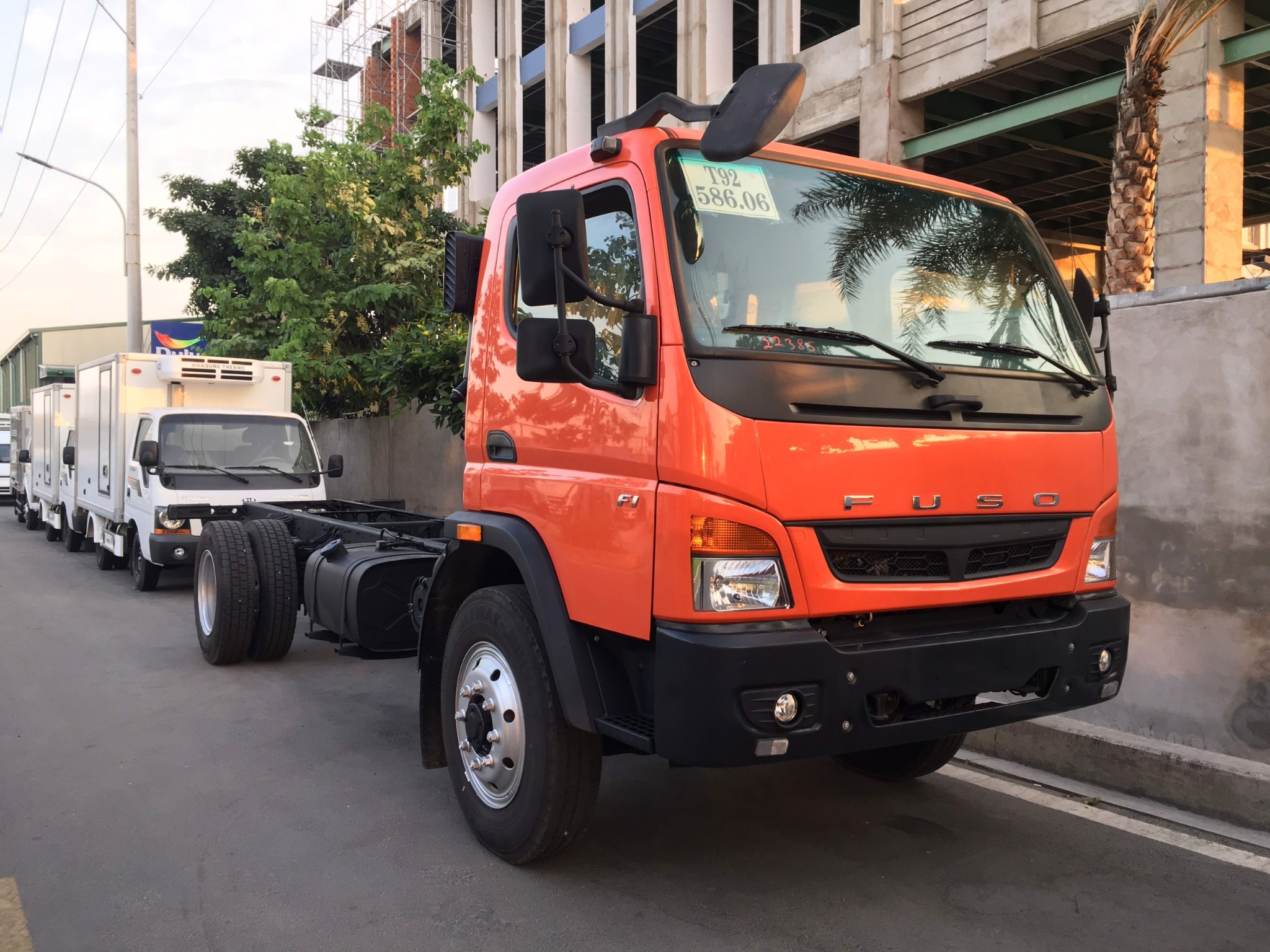 FUSO FI - CHASSIS - 2017