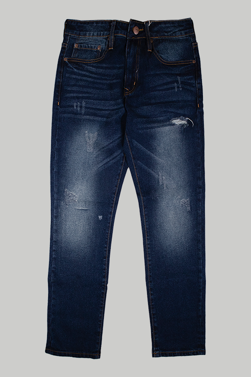 Quần Jean Ripped Light Wash