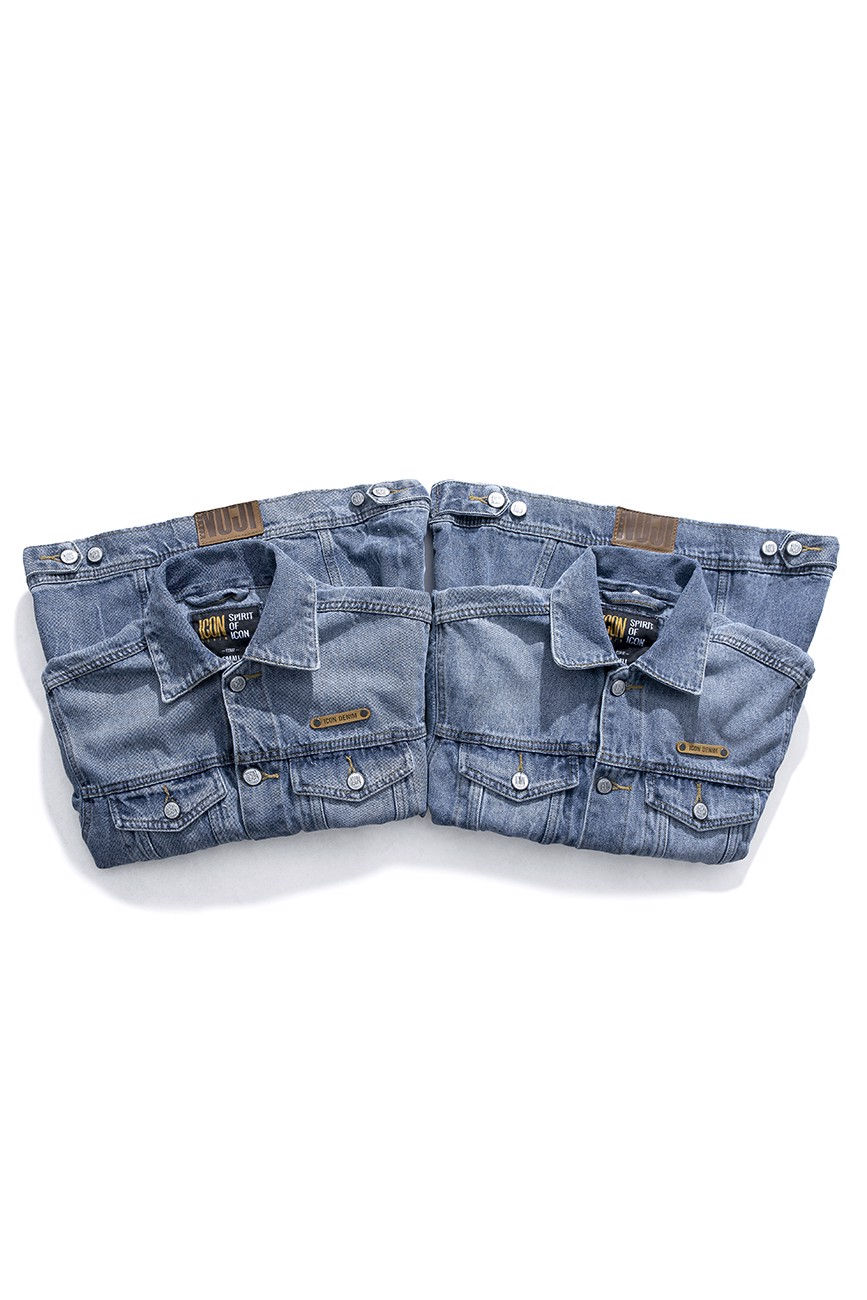 Áo Khoác Jean Heavy Wash ICON DENIM