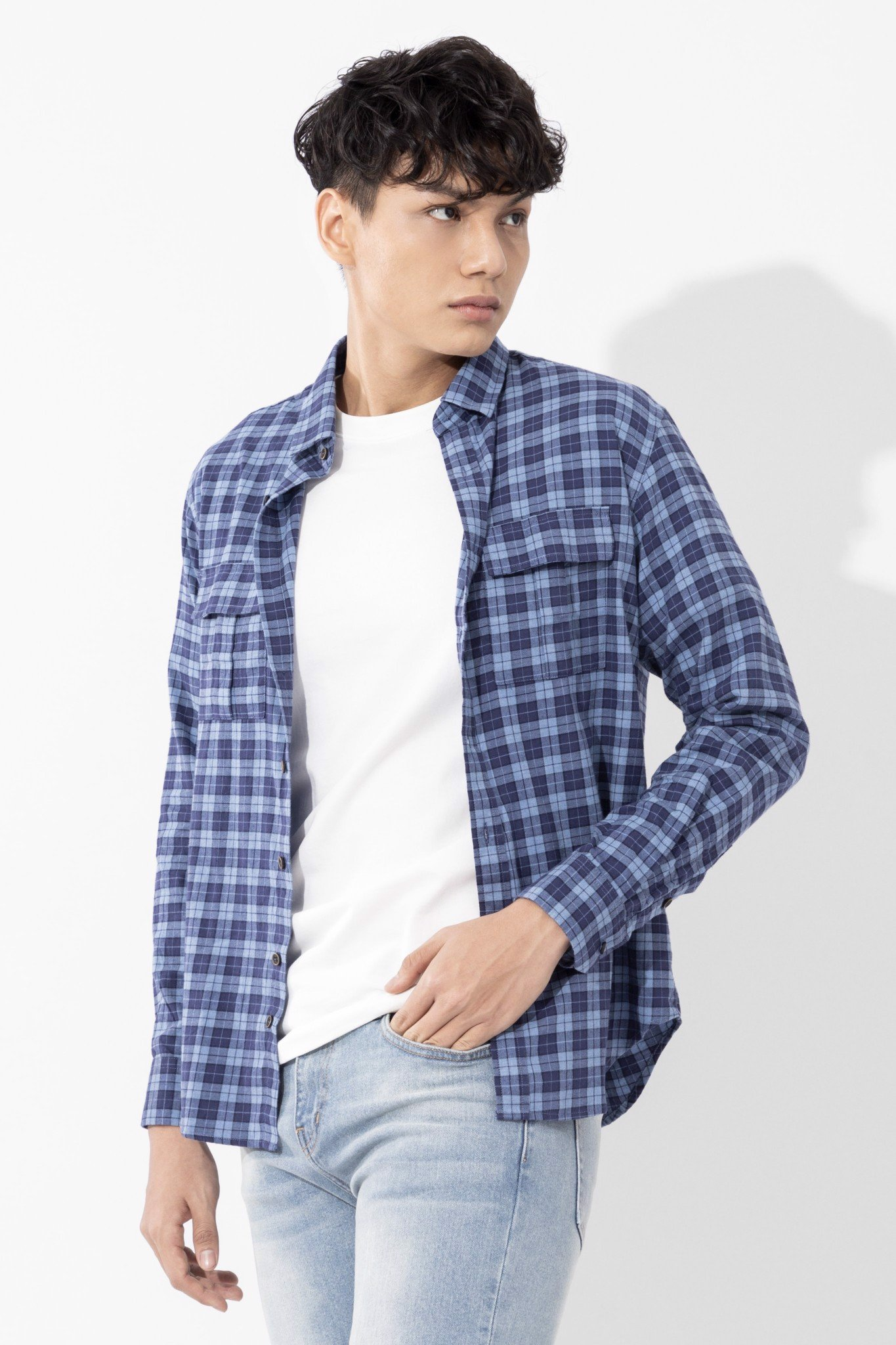 Áo Sơmi TD Flannel In Basic Plaid SS20