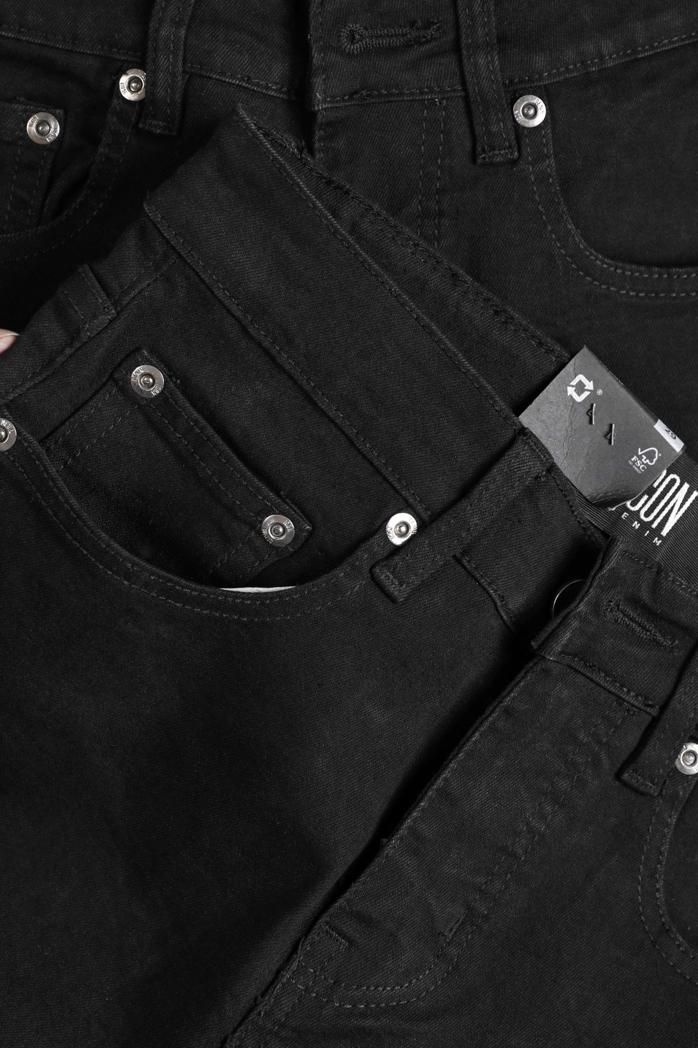 Quần Jean Skinny Stretch In Black