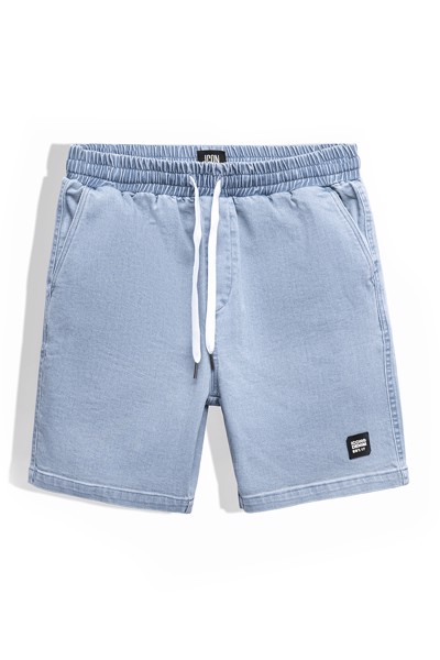 Quần Short Jean Lưng Thun Basic ICON DENIM