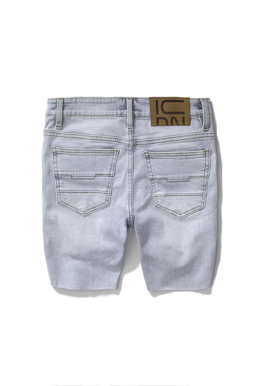 Quần Short Jean Wash W Rips