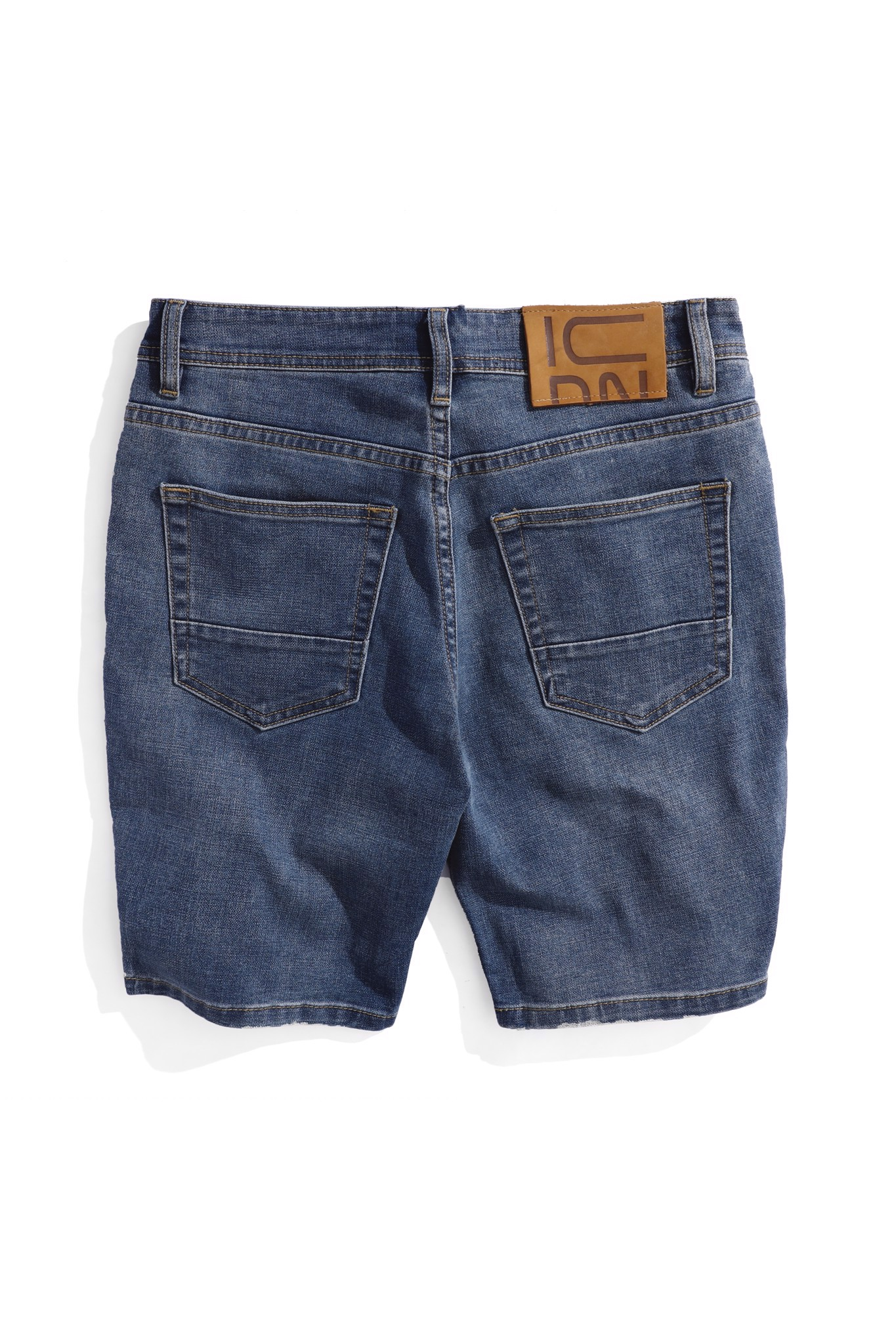 Quần Short Jean Dark Blue Wash