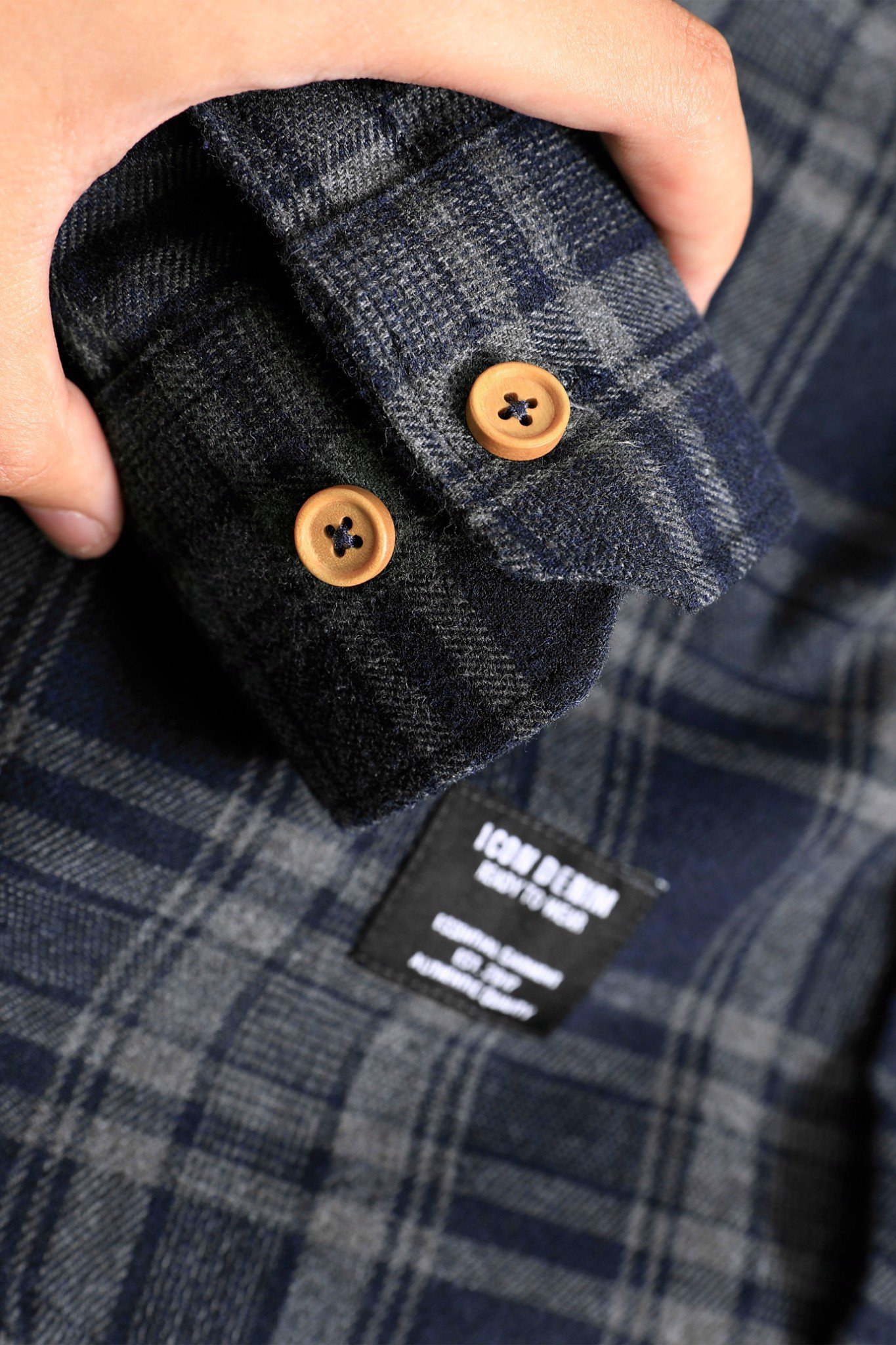 Áo Sơmi Flannel Ready To Wear ICON DENIM