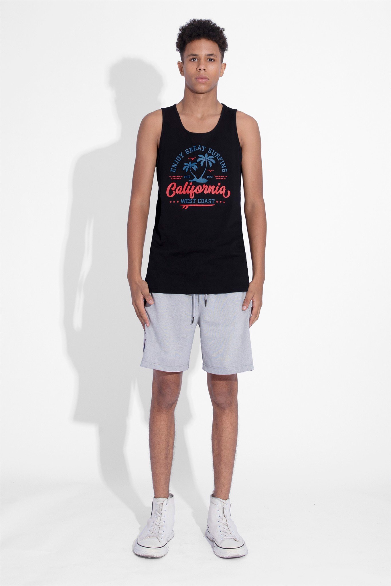 Áo Tank Top West Coast
